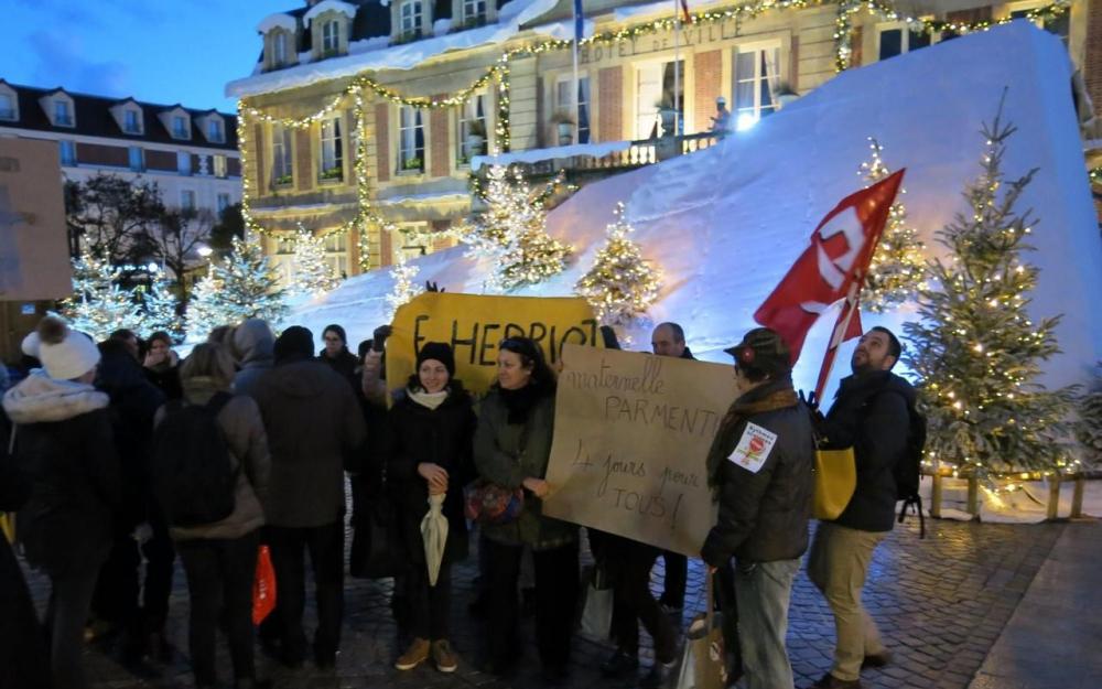 Le parisien u rythmes scolaires la tension monte à maisons
