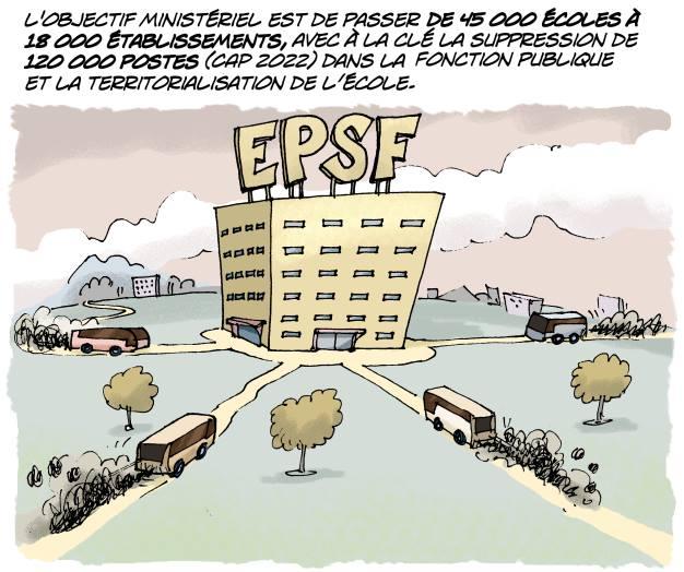 ALERTE !!! Le Ministre tente d'imposer la mise en place des EPSF dans le Val-de-Marne en désignant des quartiers de Créteil, Champigny-Chennevières et Orly pour constituer des cités éducatives à la rentrée 2019.