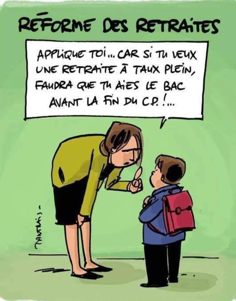 L'objectif du projet Macron-Delevoye : baisser le montant des pensions ! Pour le RETRAIT du plan Macron Delevoye ! Tous à Paris le 21 septembre 13h30 Duroc