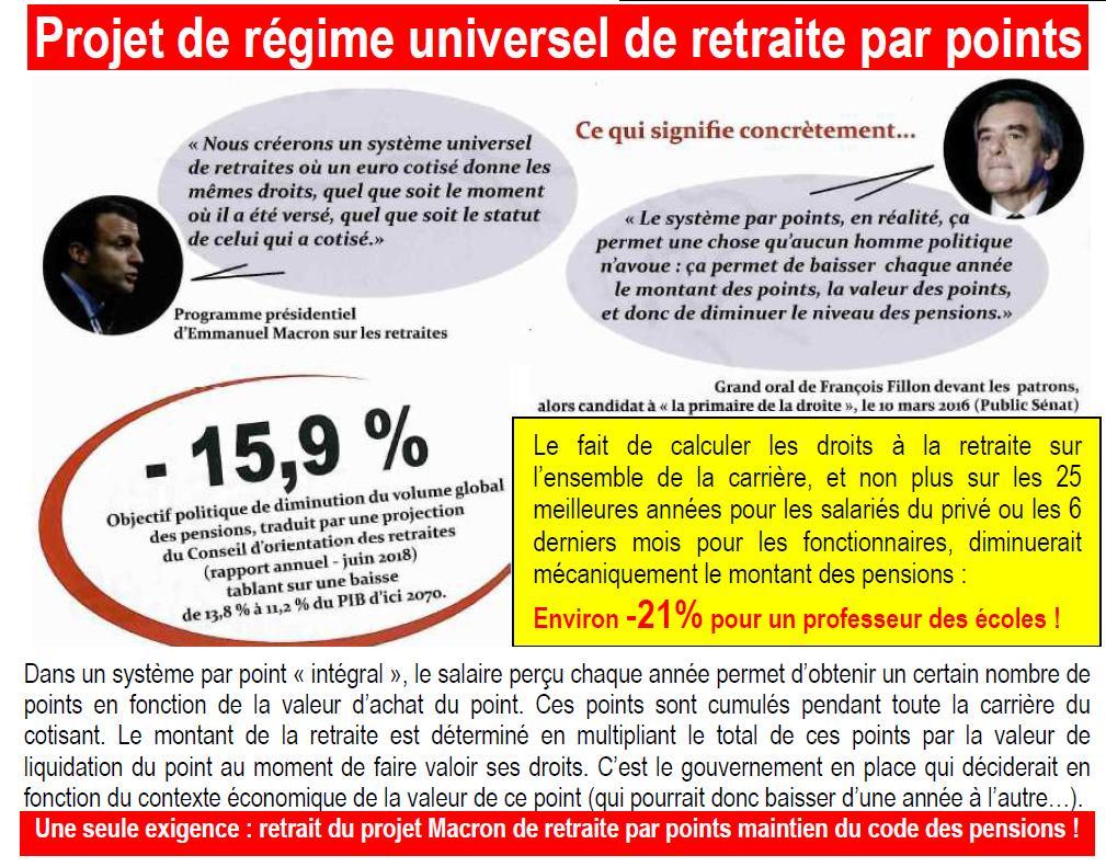 Appel intersyndical à la grève le 12 novembre